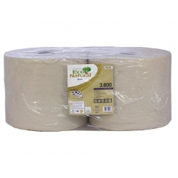 Eco Natural 3 Ply Wiping Rolls