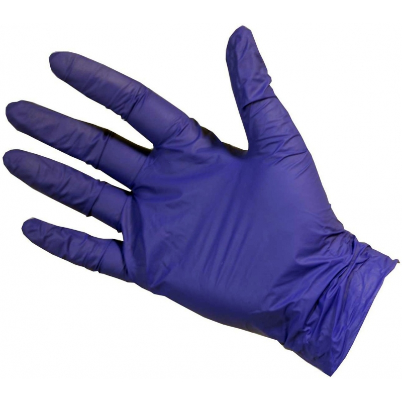 Large - Violet Nitrile Powder Free Gloves Ultratouch (Case Of 2000)