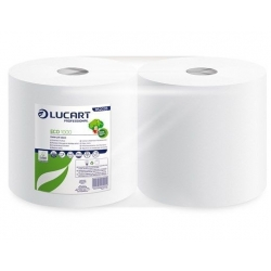 Eco Recycled White 2 Ply Wiping Rolls