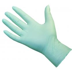 Extra Large - Green Nitrile Powder Free Gloves Ultraflex (Case Of 1000)