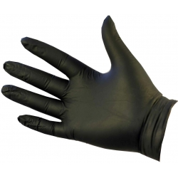 Extra Large - Black Nitrile Powder Free Gloves Ultraflex (Case Of 1000)