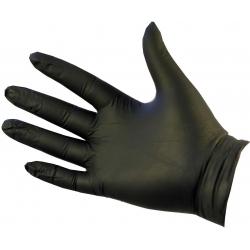 Extra Large - Black Nitrile Powder Free Gloves Ultraflex (Case Of 1000)