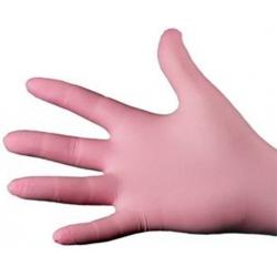 Small - Pink Nitrile Powder Free Gloves Ultraflex (Case Of 1000)