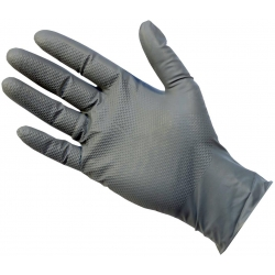 Large - Grey Nitrile Powder Free Gloves UltraGRIP Plus (Case Of 500)