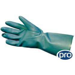Large - Green Nitrile Gloves Heavy Duty (Case Of 144 Pairs)