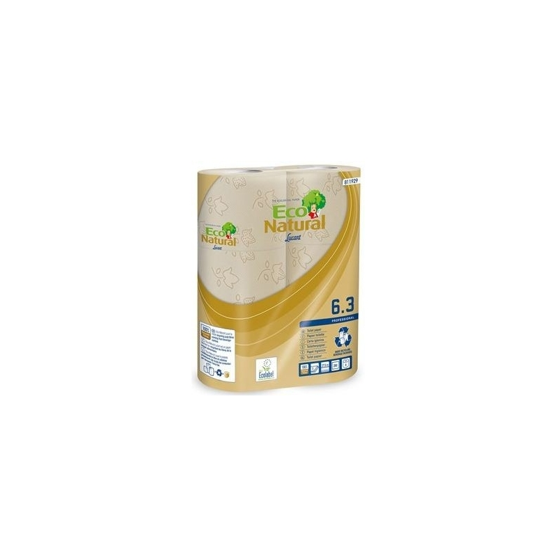Natural Luxury 3 Ply Embossed Toilet Rolls