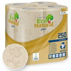 Natural Recycled 2 Ply Embossed Toilet Rolls