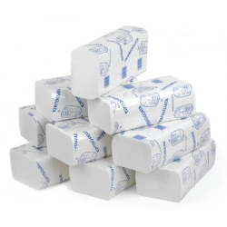 Mini Z-Fold Pure Pulp 2 ply White Paper Towels