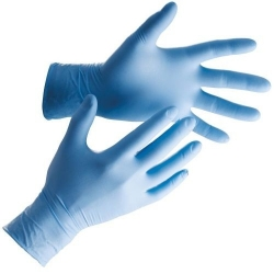 Blue Nitrile Powder Free Gloves Ultraflex (Case Of 1000) Large