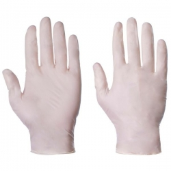 Small - Stretch Vinyl Powder Free Gloves (Case Of 1000)