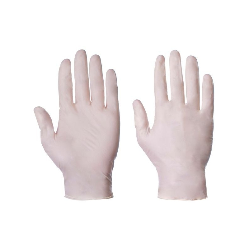 Small - Stretch Vinyl Powder Free Gloves (Case Of 1000)