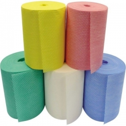 Multi Cloth Rolls Non-Woven 1500 Sheets - Yellow