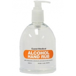 Alcohol Hand Rub 500ml 'Bell Bottle' (Case Of 25 Bottles)
