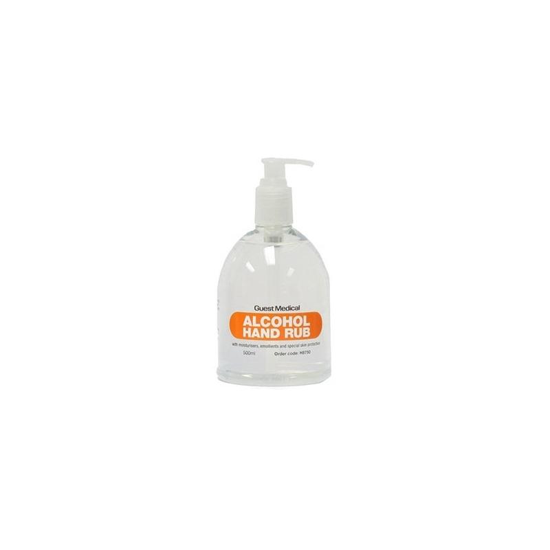 Alcohol Hand Rub 500ml 'Bell Bottle' (Case Of 25 Bottles)