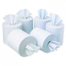 Centrefeed Rolls 2 ply White