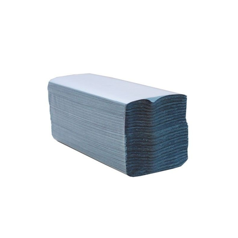 Hand Towels Blue C-Fold
