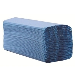 Hand Towels C-Fold Blue
