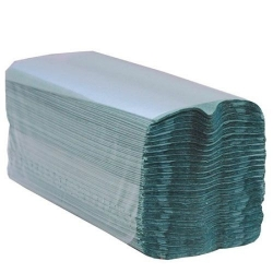 Hand Towels Green C-Fold 1 Ply
